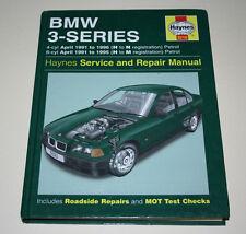 Reparaturanleitung BMW 3er E36 316 318 320 325 Cabrio, Baujahre 1991 - 1996