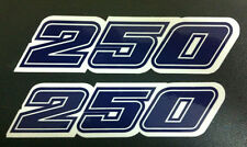 Adesivo fiancatine 250 KTM GS 1981- adesivi/adhesives/stickers/decal