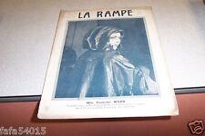 REVUE LA RAMPE N° 257 Mlle PIERRETTE MADD 22 10 1921