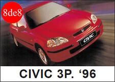 Honda Civic (1996) 3P/Coupe - Workshop Manual on CD