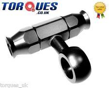 AN -6 (6AN AN6) Weber / Dellorto Carburettor Teflon Hose Fitting Banjo Tee Black