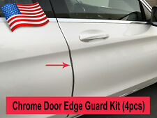 4pcs CHROME DOOR EDGE GUARD Flexible Protection Trim Molding Kit for Alfa Romeo