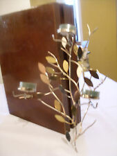 Partylite SHIMMERING LEAVES WALL SCONCE / BRAND NEW FOR FALL 2016/  NIB