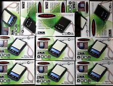 3 Cute Cool Mini Digital 300g Keychain Scales Stainless Steel Top 10 Yr US War