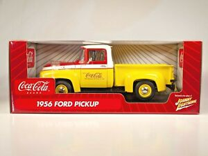 Johnny Lightning COCA-COLA Coke 1956 FORD PICKUP 1:18 Die Cast  #51010 - BX14