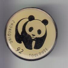RARE PINS PIN'S .. ANIMAL OURS BEAR PANDA 1992 CHONGQING CHINE TOULOUSE 31 ~C4