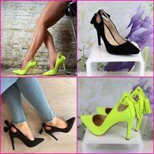 Unbranded Standard Width (B) Court Heels for Women