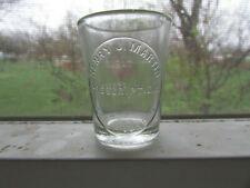 Scarce 1900s LOS ANGELES Druggist DOSE Glass HENRY J. MARTIN Prescriptions !!!