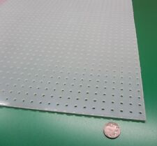 Polypropylene Perforated Sheet 18 Thick X 32 X 48 316 Dia Hole Straight