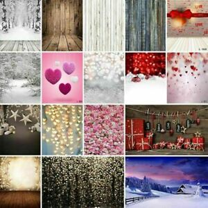 Dream Floral Star Heart Snow Wood Photography Prints Backdrops Background Screen
