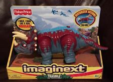 Collectible - Trample The Triceratops Dinosaur - Fisher Price Imaginext (NEW)