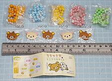 San-X  Rilakkuma DIY Bead Wrist Bracelet Complete 5pcs - Koro Koro     ^_^