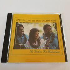 Ke Aloha O Ka Makualani Hawaiian Music CD Gary Haleamau With JJ & Darlene Ahuna