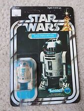 REPRODUCTION Cardback R2-D2 12 Back  Star Wars  Carded  MOC LP
