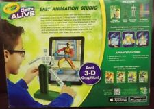 Crayola Color Alive Easy Animation Studio Imagine Design w/ Real 3D Graphics