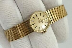 Luxury Ladies Omega Gold Filled Watch