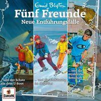 FÜNF FREUNDE - 030/3ER BOX-NEUE ENTFÜHRUNGSFÄLLE (FOLGEN 91,10  3 CD NEU