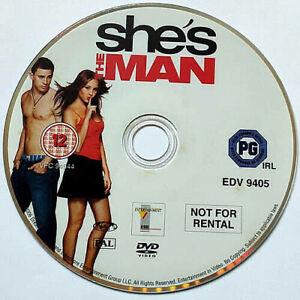 She's The Man (DVD) Disc Only - Amanda Bynes - Channing Tatum - (2006)