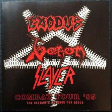 EXODUS / VENOM / SLAYER – Combat Tour '85 (NEW*LIM.500*SOUNDBOARD LIVE 1985)
