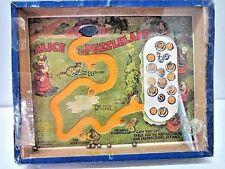 Vintage Alice In Puzzleland Dexterity Puzzle Game Journet & Co London England