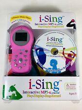 i-Sing Interactive MP3-Karaoke Play-Display-Sing-Record Ultimate Music Player