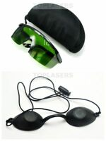 IPL CE 200nm-2000nm Laser Protection Goggles w Cosmetic Beauty Patient Eyepatch
