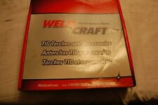 New listing WeldCraft Wp-9-25-R Torch Package 25' Rubber