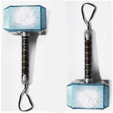 Marvel Superhero Thor Hammer LED Light Glowing Sound Cosplay Kid Toy Game Props