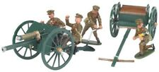 Britains 41105 British 18 Pdr Gun, Limber & 4 Crewman WWI 1914-18 MIB Rare Set