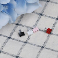 4Pcs 1:12 Dollhouse miniature metal Clamp stationery miniature gift JR