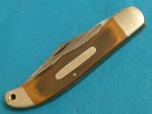 VINTAGE SCHRADE USA 25OT OLD TIMER BIG FOLDING HUNTER BOWIE KNIFE KNIVES POCKET