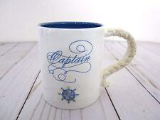 Grasslands Road Coffee/Tea Mug Nautical Captain's Ship Wheel Motif New - Gift