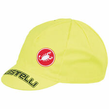 Yellow Cycling Hats, Caps and Headbands