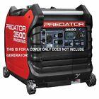 Predator 3500 Watt Generator COVER Custom Made From Marine Canvas(BLACK)