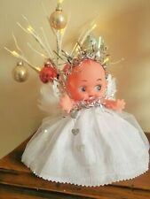 Kewpie Doll Christmas Fairy/Angel Tree Topper Christmas Decoration