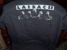 OFFICIAL SPAIN LAIBACH T-SHIRT L-SIZE UNWORN