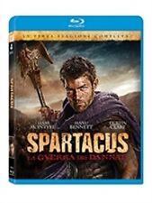 Spartacus - La guerra dei dannati - Stagione 3 (4 Blu-Ray) ORIGINALE SIGILLATO -