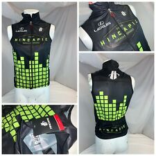 Hincapie Lexus South Carolina 2014 Cycling Vest S Men Black Poly NWT YGI I0-134