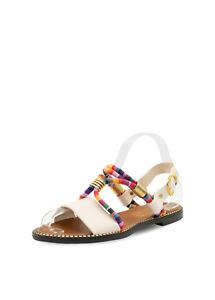 CAPRIUM Damen Sandalen mit Riemensandalen Schuhe Sommerschuhe Modell Silly