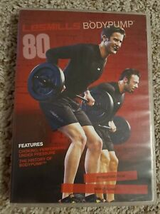 Les Mills Body Pump 80 CompleteKit DVD, CD, And Booklet