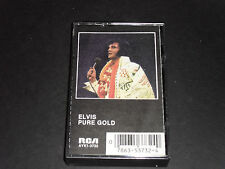 Elvis Presley-Pure Gold-Audio Cassette Tape-Good Condition