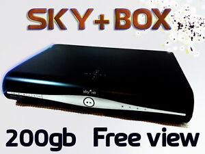 Sky PLUS + HD Box & Remote Bundle - Easy Freeview Freesat DRX890 - 250GB Model