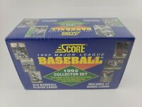 SCORE 1992 Major League Baseball MLB Collector Set 910 Cards 17 Bonus Sealed