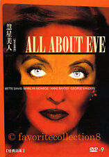 All About Eve (1950) - Bette Davis, Anne Baxter - DVD NEW
