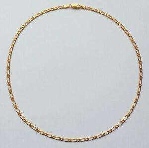 "Gold Necklace Chain 16"" 9ct Boys Women Girls Unisex Jewellery 3mm"