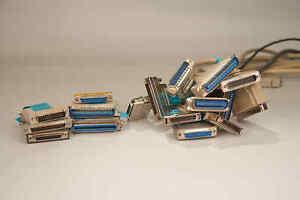 SCSI Bonanza! Centronics 36 50 DB25 Male Female Terminator Cable Micro