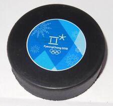 RARE @ official hockey game puck WINTER OLYMPIC GAMES 2018 KOREA men TOURNAMENT