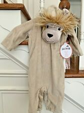 Pottery Barn Kids Baby Lion Halloween Costume Size 0-6 Months NWT