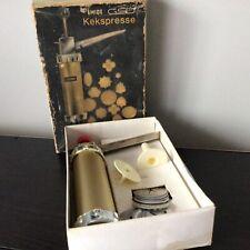 Vintage Emide GSD Kekspresse Biscuit Press & Cake Decorating Tool #404