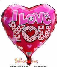 """18""""inch Pink I Love You boy friend Foil Balloons valentines Party Baloon ballon"""